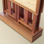 Sawbridge Studios Folding Side Table Set - Storing Base