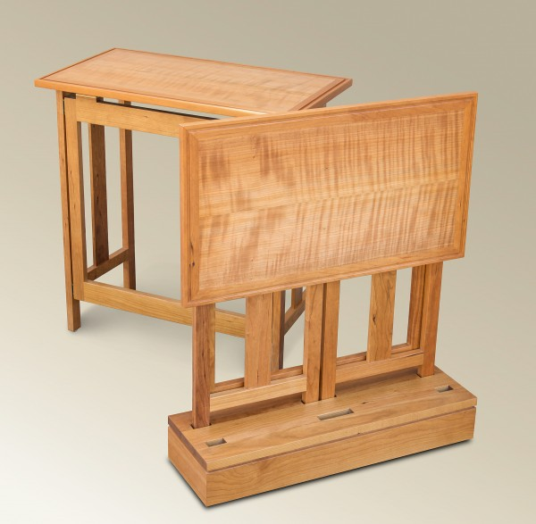 Sawbridge Studios Folding Side Table Set