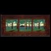 6x6 Pine Landscape Framed Tile Set