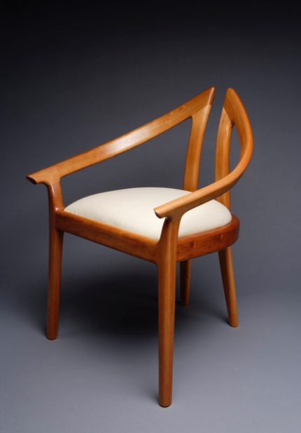 Alpha Low Dining Chair Front view