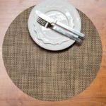 Basketweave Circular Placemat