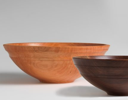 Cherry and Walnut Willoughby Bowls