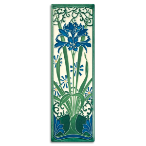 China Blue Amaryllis Tile