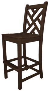 Chippendale Bar Chair Without Arms