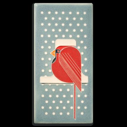 Cool Cardinal Tile