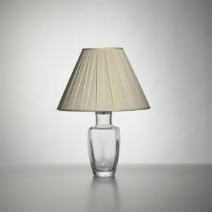 Fairlee Lamp with Silk Pleated Shade