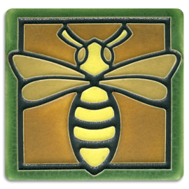 Green Bee Tile