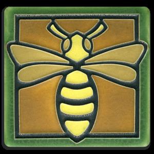 Green Bee Tile