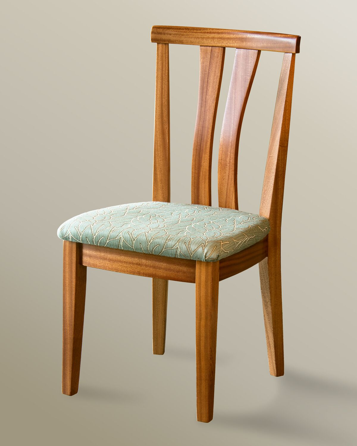 Tall back mission style chairs asian