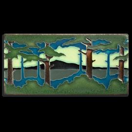 Horizontal Pine Landscape Tile