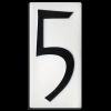 House Number 5 Tile