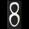 House Number 8 Tile