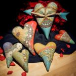 Laurie Pollpeter Eskenazi Clay Hearts