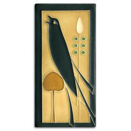 Left Golden Songbird Tile