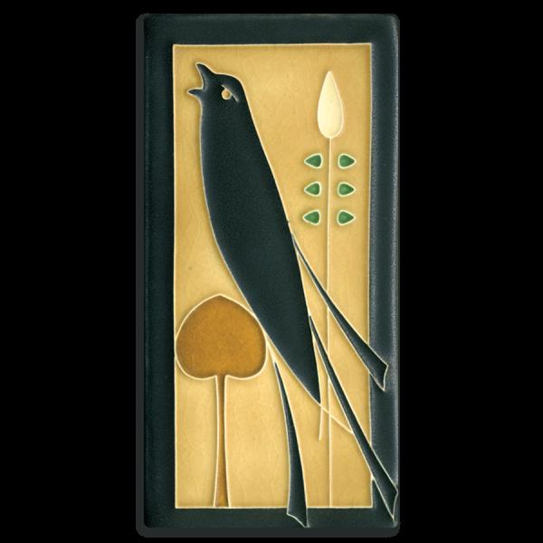 Left Golden Songbird Tile