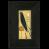 Left Songbird in Ebony Frame
