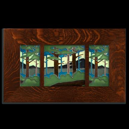 Legacy Framed Pine Landscape Set