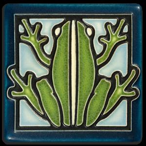 Light Blue Frog Tile