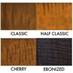 Marshall Wood Finish Options