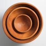 Pearce Nesting Cherry Champlain Bowls