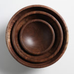 Pearce Nesting Walnut Willoughby Bowls