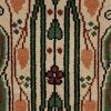 Red Celtic Hand-Knotted Rug detail