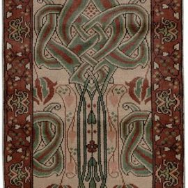 Red Celtic Knot Runner