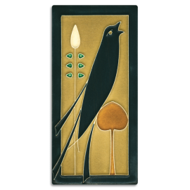 Right Golden Songbird Tile