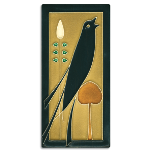 Right Golden Songbird Tile