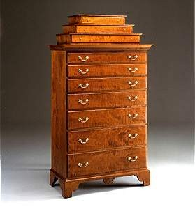 Stair-Step Highboy