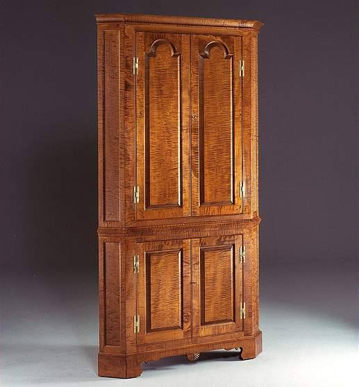 Queen Anne Corner Cupboard