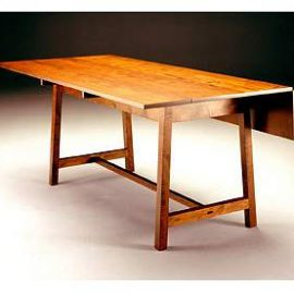 Drop Leaf Harvest Table