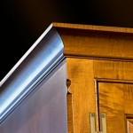 Granat Armoire Corner Detail