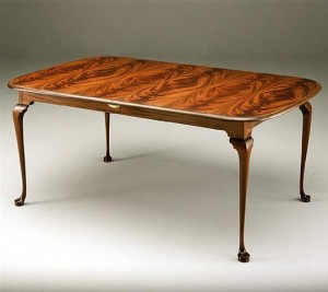 Formal Queen Anne Dining Table