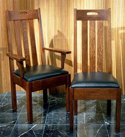 Arts & Crafts Slat Chair