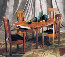 California A&C Bungalow Extending Table