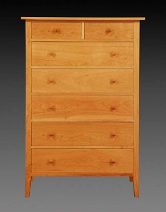 Canterbury 7 Drawer Chest Front