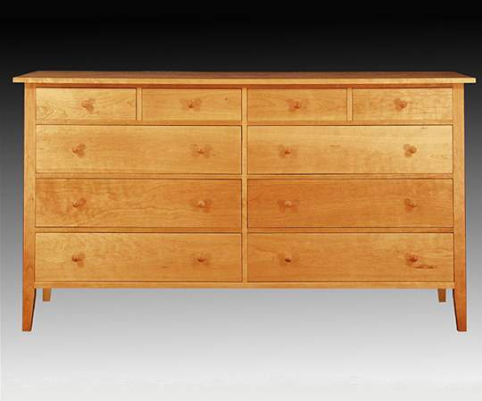 Canterbury Ten Drawer Dresser