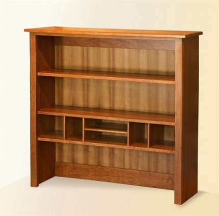 Modular Upper Bookcase Hutch
