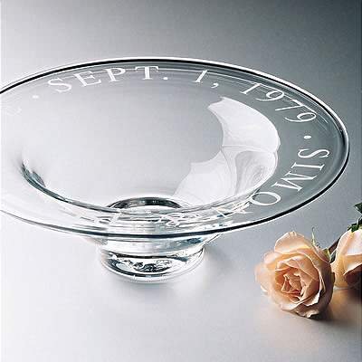 Engraved Celebration Bowl