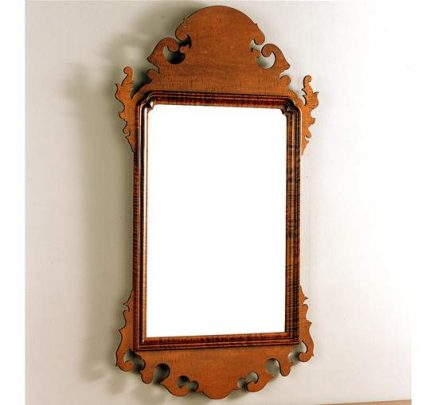 Wallace Nutting Scroll Mirror