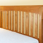 Slat Inlay Headboard