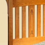 Slat Inlay Bed detail