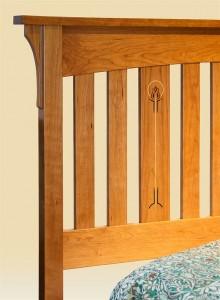 Slat Inlay Bed detail