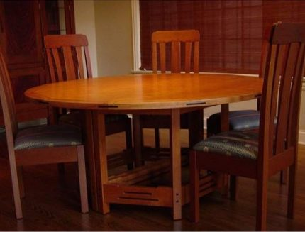 Round California A&C Extending Table