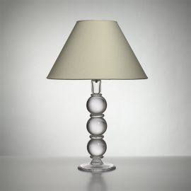 Large Hartland Lamp with Linen Shade