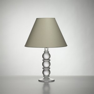 Small Hartland Lamp with Linen Shade