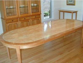 Racetrack Oval Dining Table