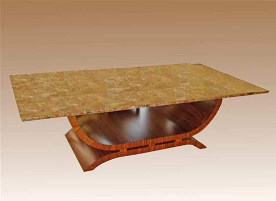 Custom Art Deco Table Base