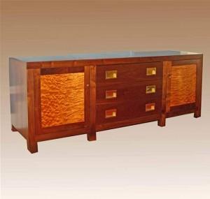 Flat Screen Component Cabinet